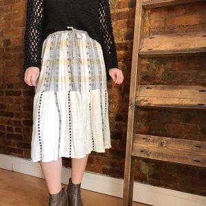Ace + Jig Drawstring Waist Skirt
